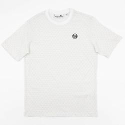 T-shirt Sergio Tacchini Ansley Blanc