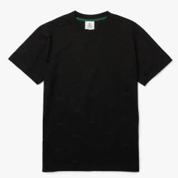T-shirt Lacoste LIVE à motif monogramme