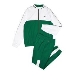 Ensemble de survêtement Tennis Lacoste SPORT bicolore à capuche