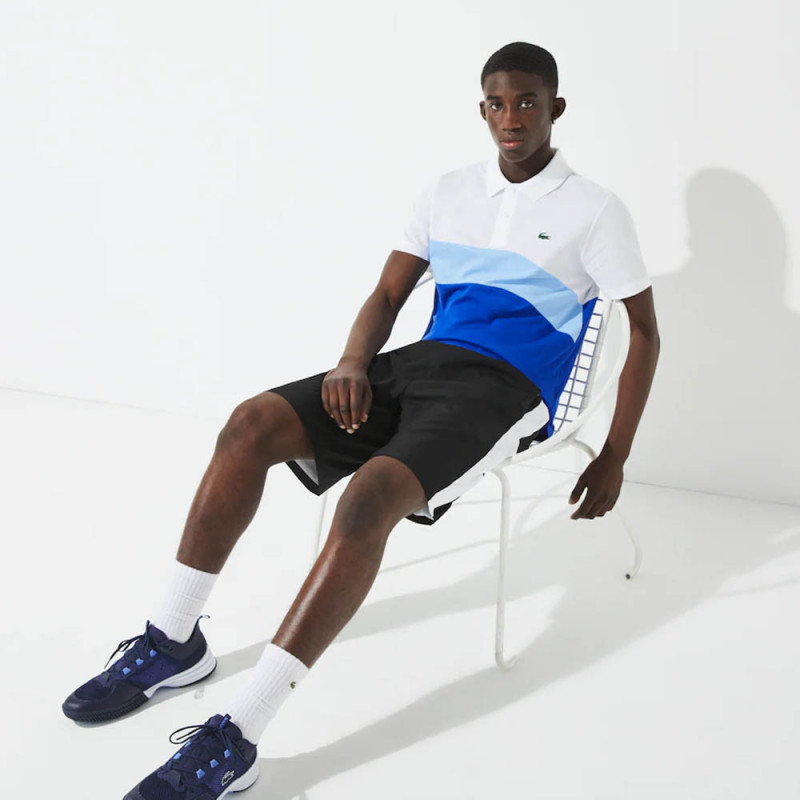 Polo Tennis Lacoste SPORT color-block ultra léger
