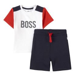 Ensemble t-shirt et bermuda Boss Enfant