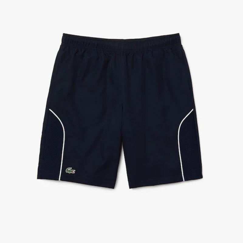 Short Lacoste Tennis SPORT léger Bleu marine