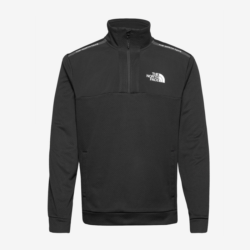 Sweat Demi Zip The North Face noir