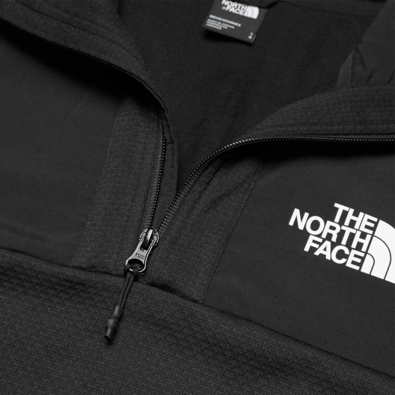 Sweat Demi Zip The North Face noir