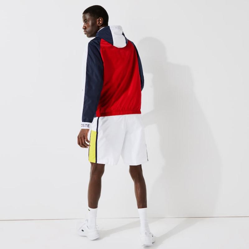 Coupe-vent Tennis Lacoste SPORT léger color-block