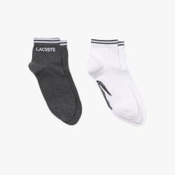 Lot de 2 paires de chaussettes Lacoste SPORT en coton avec logo