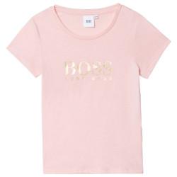 T-shirt rose Boss enfant