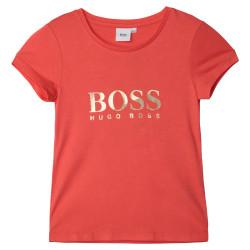 T-shirt Mandarine Boss enfant