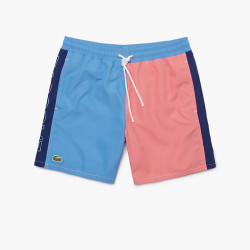 Short de bain Lacoste Color Block-léger