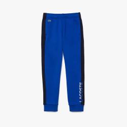 Pantalon de survêtement Enfant Lacoste en molleton Color-Block