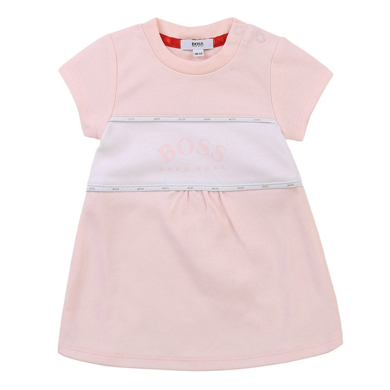 Robe Rose Boss enfant
