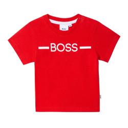 T-shirt Boss Rouge pour bébé