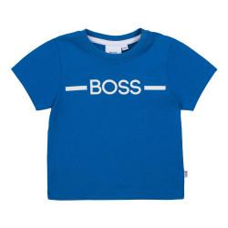 T-shirt Boss Bleu pour bébé