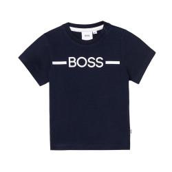 T-shirt Boss Bleu Marine pour bébé