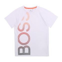 T-shirt blanc Boss pour enfant