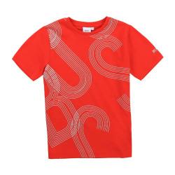 T-shirt rouge Boss pour enfant