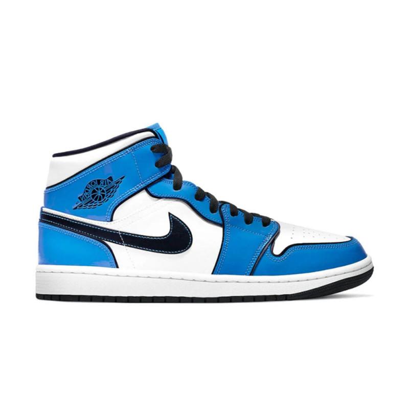 Baskets Nike Air Jordan 1 Mid SE Signal Blue