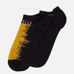 Lot de 2 paires de Socquettes HUGO As Design CC