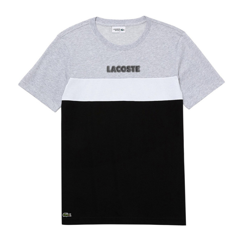 T-shirt Lacoste SPORT en jersey de coton mélangé color-block