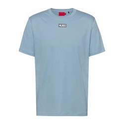 T-shirt HUGO Durned212 Regular Fit Bleu