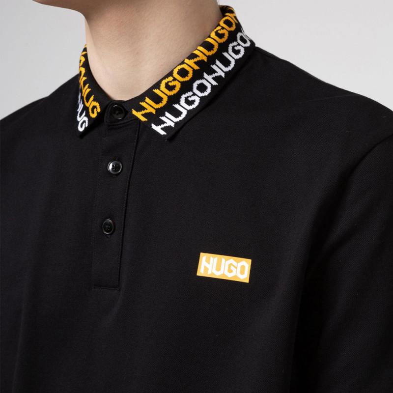 Polo HUGO Damago Noir