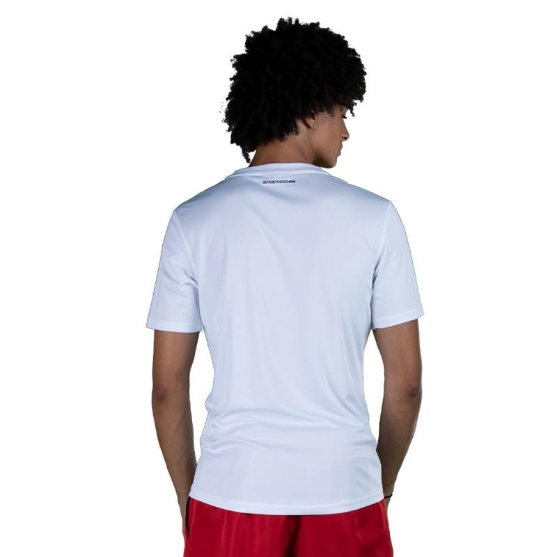 T-shirt Sergio Tacchini Alviero Blanc