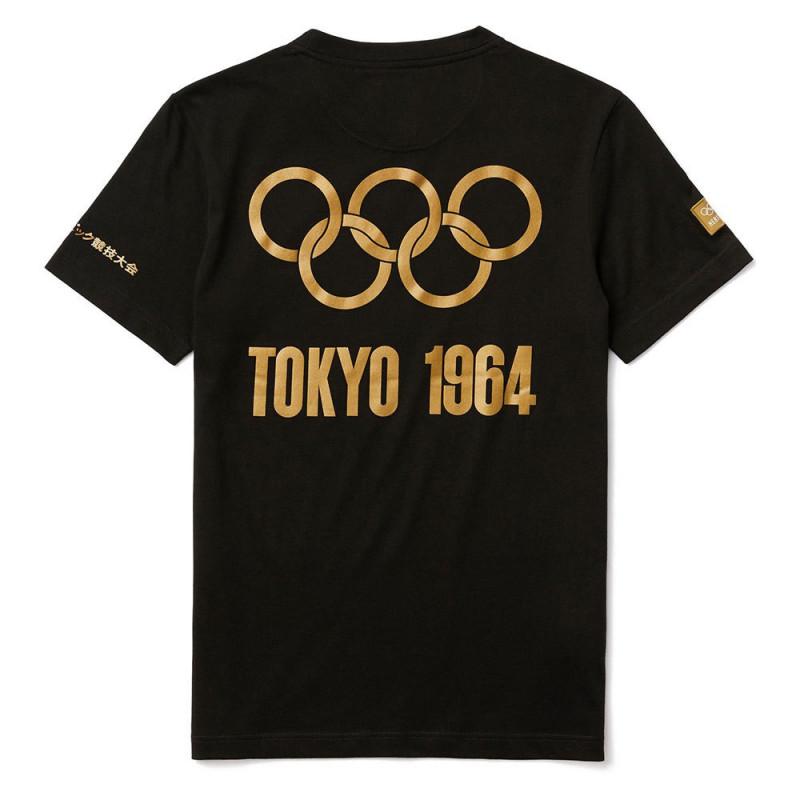 T-shirt Lacoste Olympique Noir