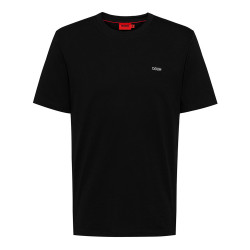 T-shirt Hugo Dero212 Noir uni en coton