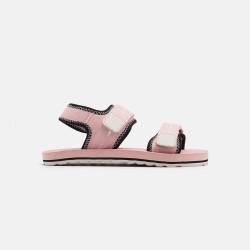 Sandales Sol ROSE bébé en tissu