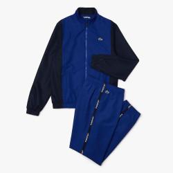 Ensemble de survêtement Lacoste SPORT color-block Bleu Marine Bleu