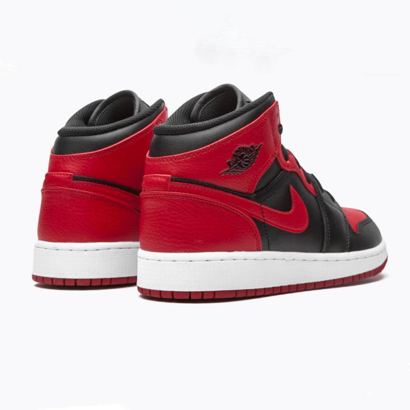 Baskets Air Jordan 1 MID (GS)