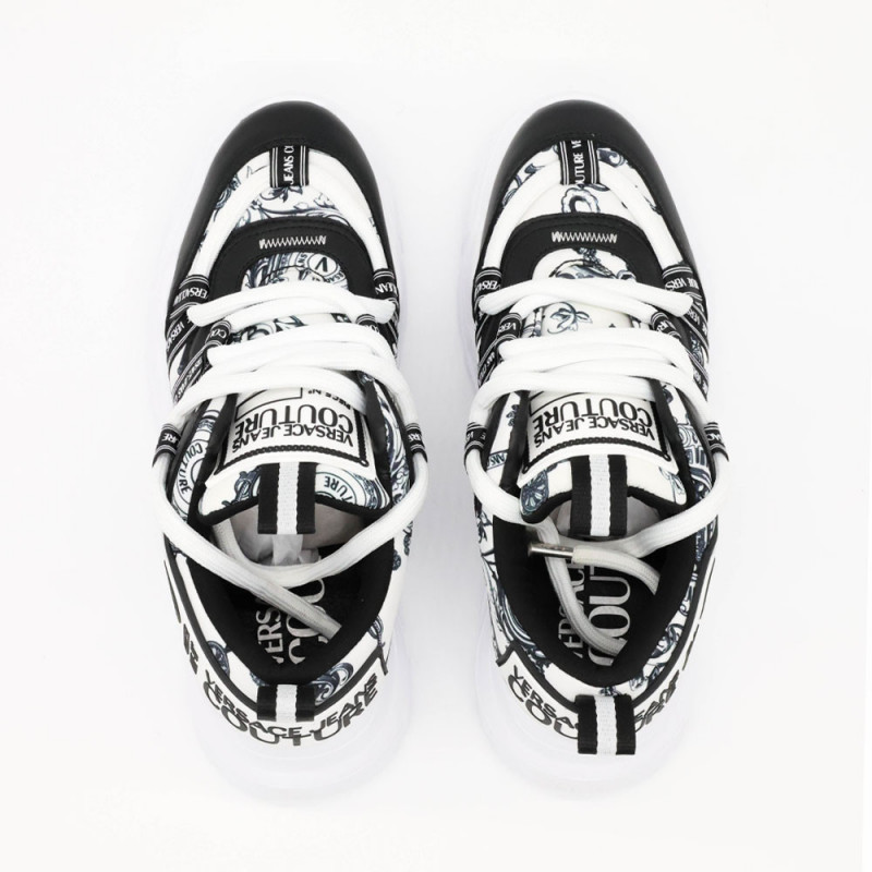 Baskets Versace Jeans Couture 71YA3SC5 Dis 7