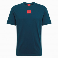 T-shirt Hugo Regular Fit en...