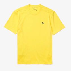T-shirt Lacoste Sport Jaune...
