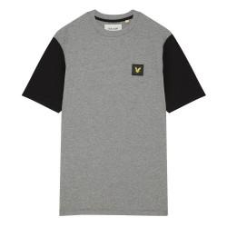 T-shirt Lyle & Scott gris /...