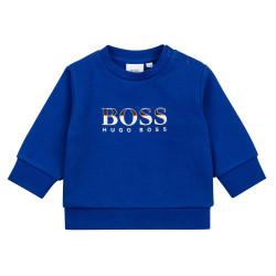 Sweat Boss Bleu pour bébé