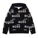 Sweat à capuche Boss noir...