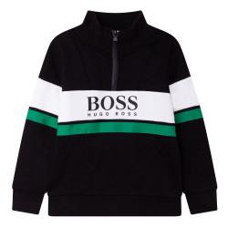 Sweat Boss noir pour enfant
