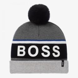 Bonnet gris Boss pour enfant