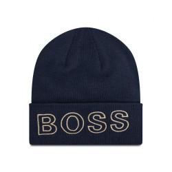 Bonnet bleu marine Boss enfant