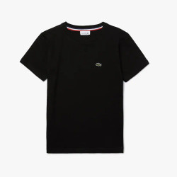 T-shirt col rond Lacoste...