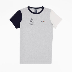 T-shirt à col rond Lacoste...