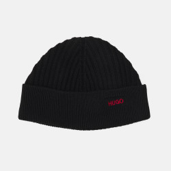 Bonnet Hugo en laine noir...
