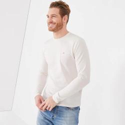 T-shirt blanc Eden Park à...