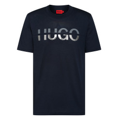 T-shirt à col rond Hugo...