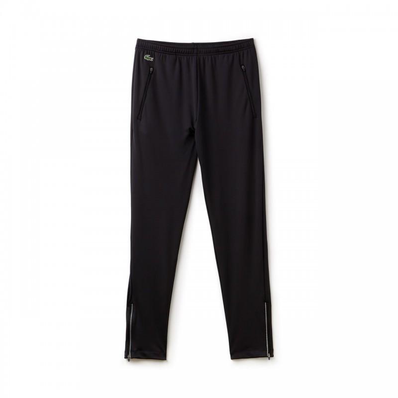 Pantalon de survêtement Lacoste SPORT DJOKOVIC noir