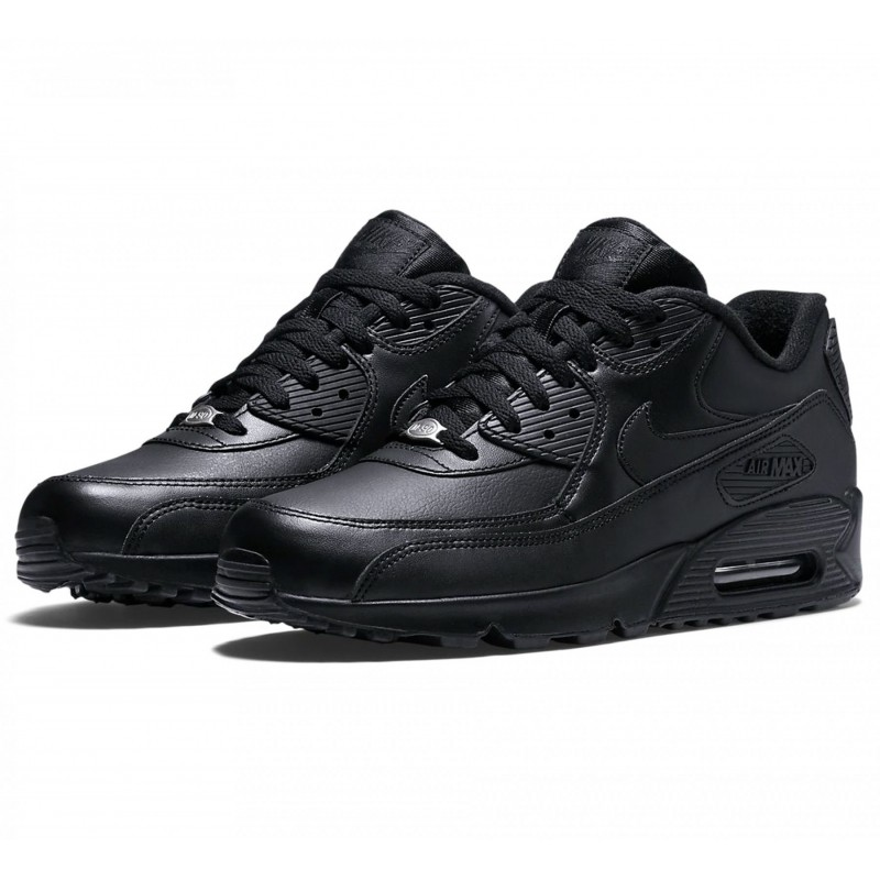 bas prix 7c6e7 d4119 Baskets Nike Air Max 90 Leather