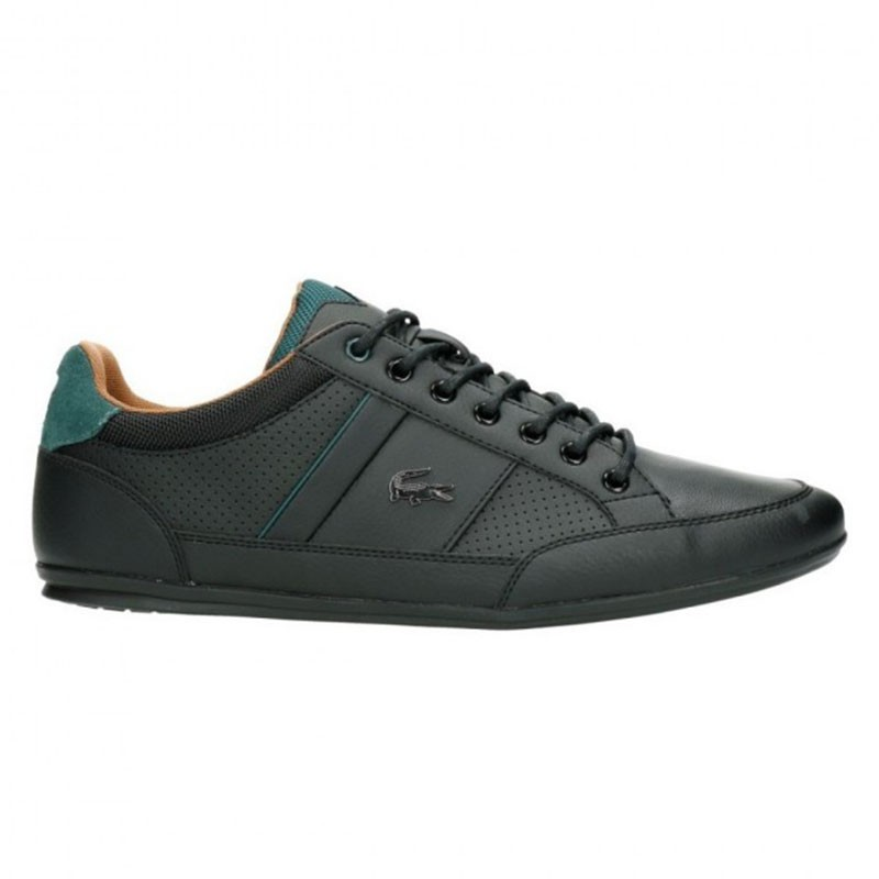Baskets Lacoste Chaymon 317 1 CAM Black/Tan