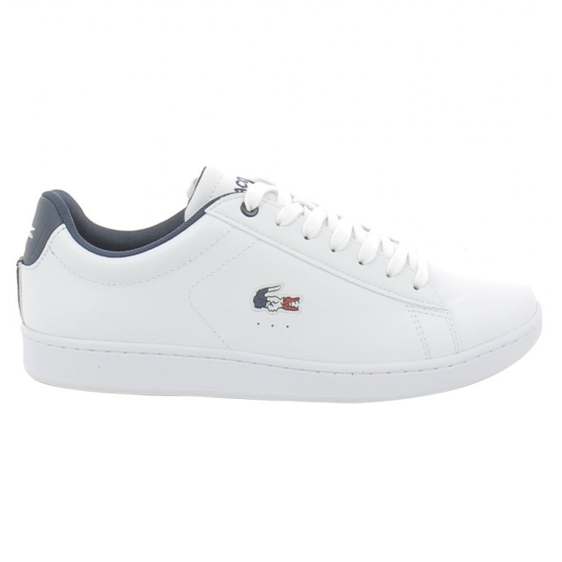 Baskets Lacoste Carnaby EVO 119 7 SFA WHT/NVY/RED