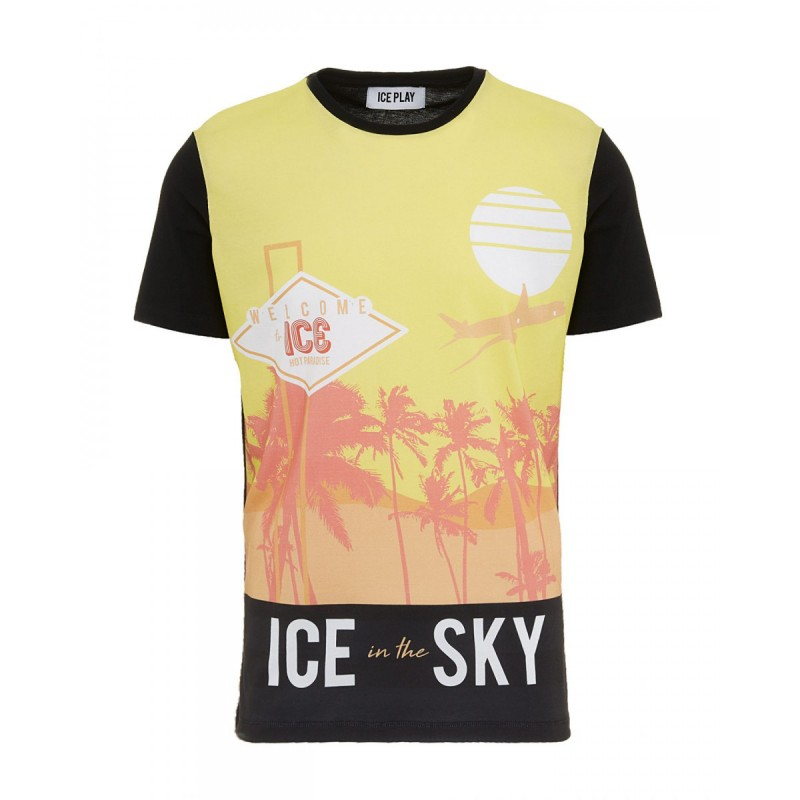 T-SHIRT ICE PLAY UOMO